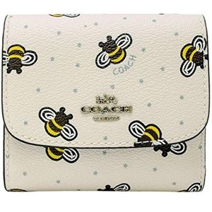 🍒NWT🍒 COACH FLYING BEES TRIFOLD WALLET